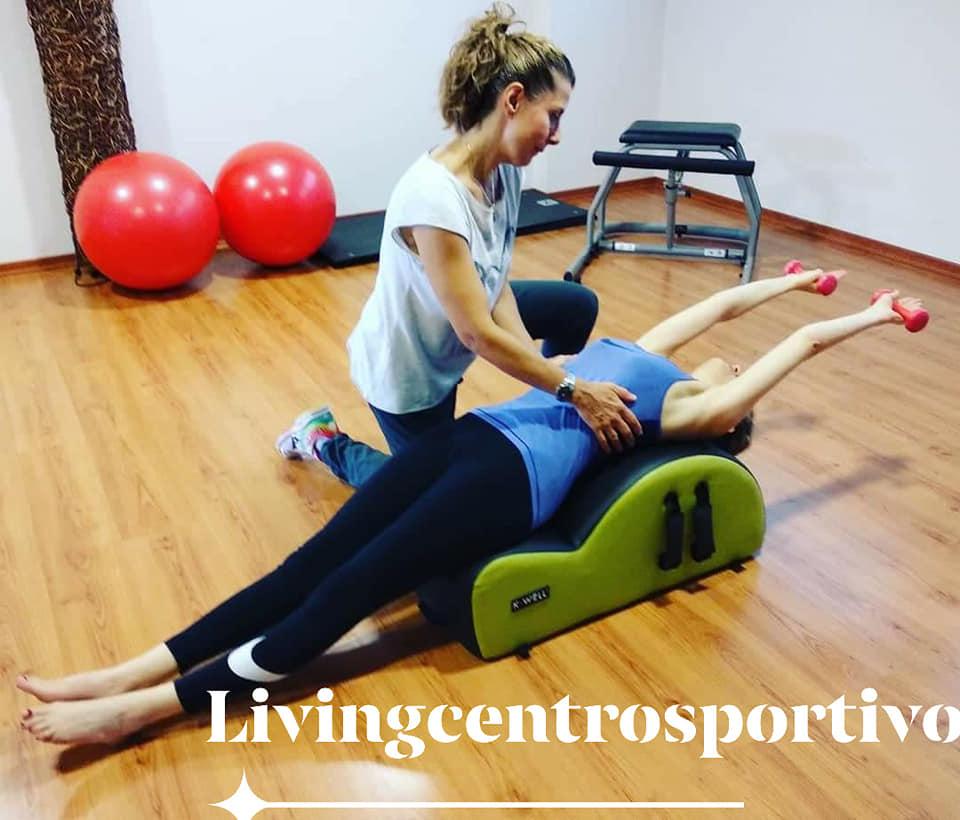 Esercizio di pilates per il diaframma